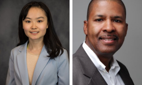 Jenny Su '21 CLAS and Tony Holland '09 MBA
