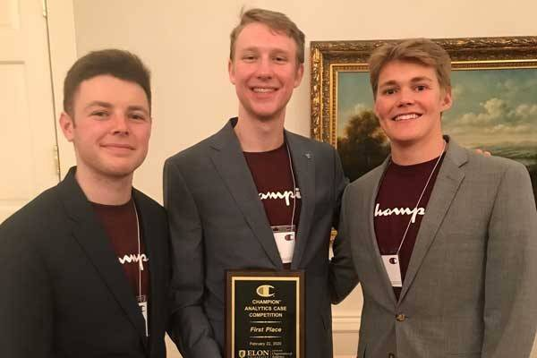 VSB Wins Elon Business Analytics Case Competition