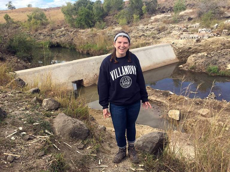 Elizabeth Cullen, Chemical Engineering and Fulbright Student Grant recipient