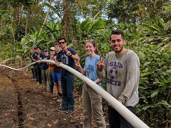 Through Villanova's Engineering Service Learning program, student put their engineering skills to work around the world.
