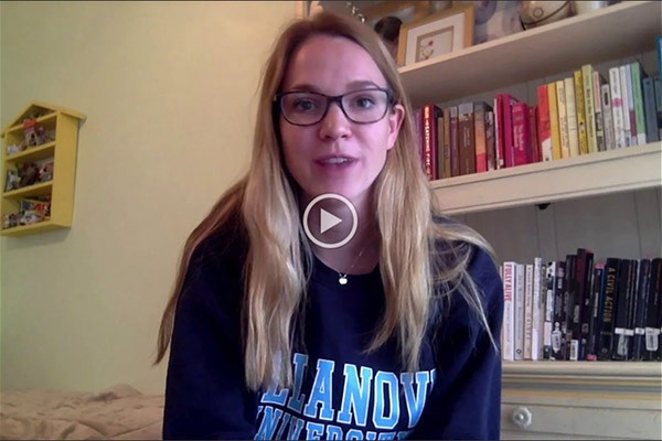 Hear from Villanova English majors about why they chose to major in English.