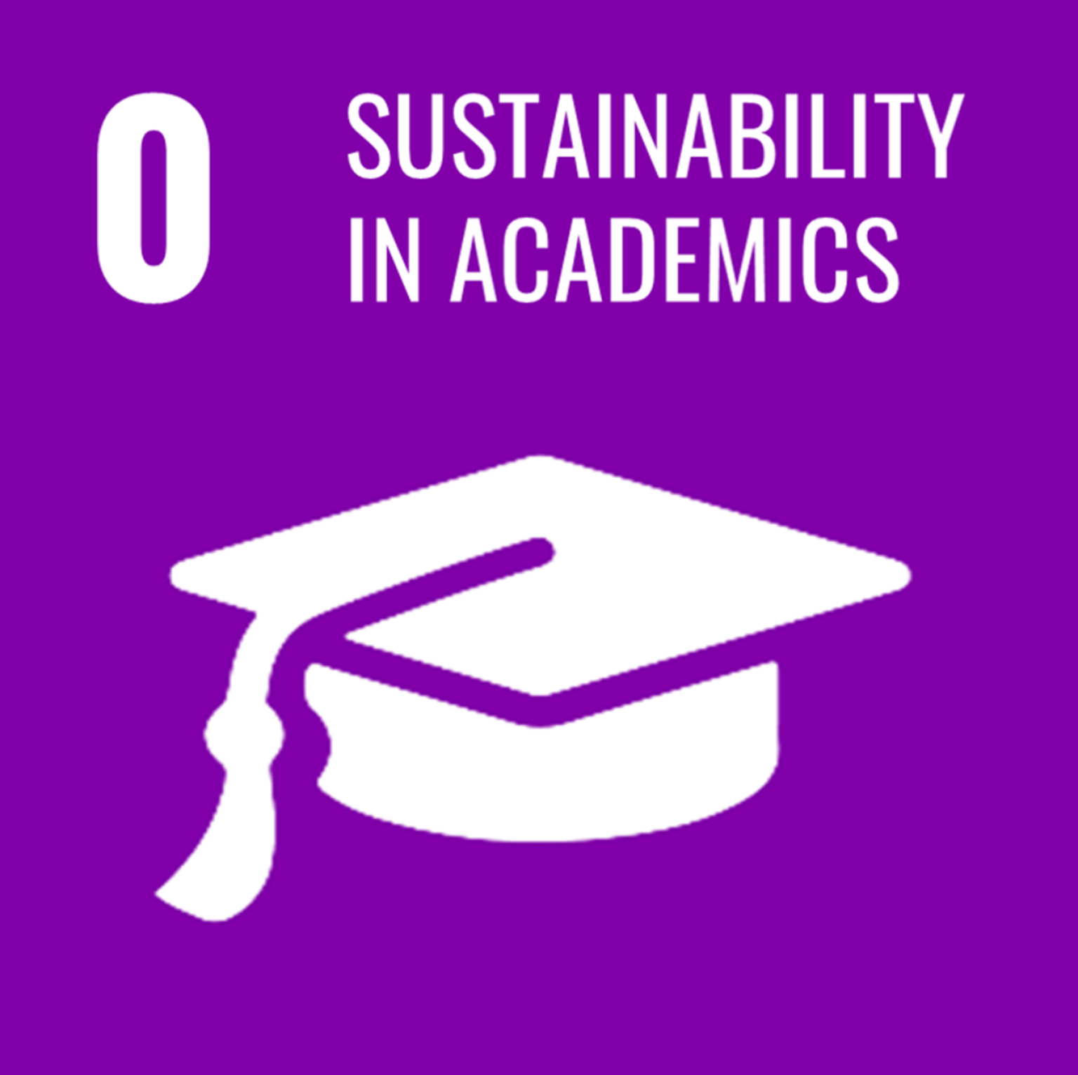 Goal 0: Sustainability in Academics