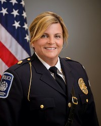 Debra Patch, Deputy Chief of Police and Associate Director of Public Safety.