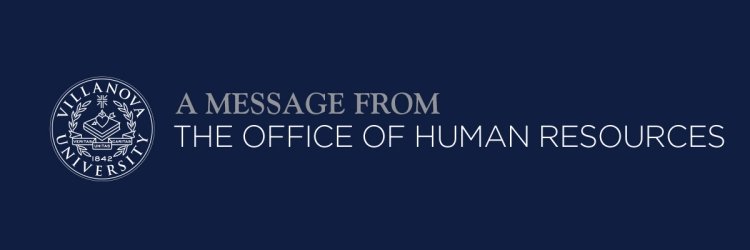 A Message from the Office of Human Resources