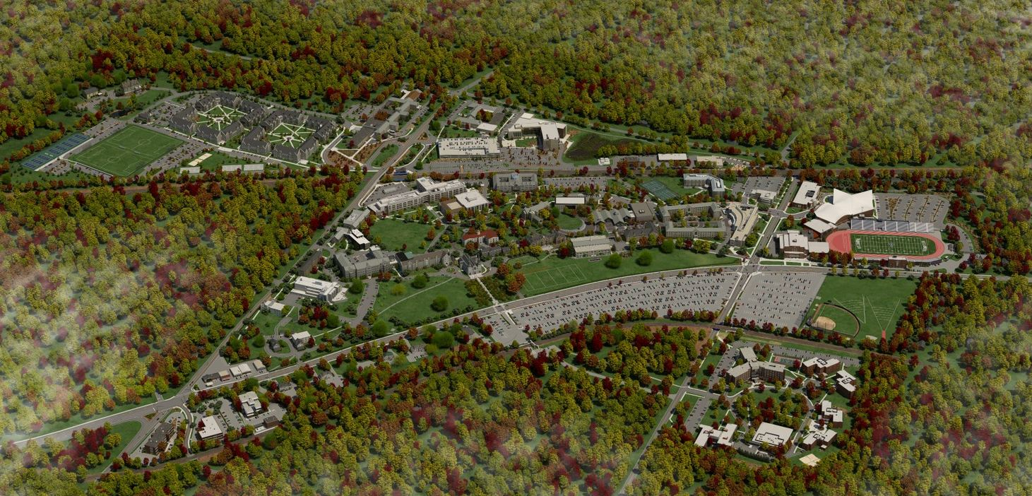 California University Of Pa Campus Map.Maps Directions Villanova University