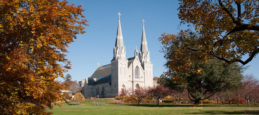 image of St. Thomas of Villanova Church during the day