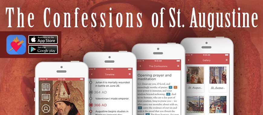 """Augustine's Confessions"" - The mobile app"