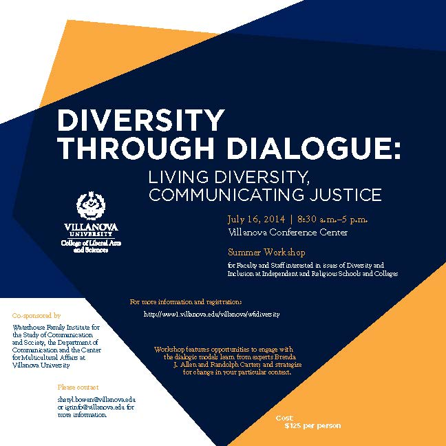 Diversity Through Dialogue: Living Diversity, Communicating Justice