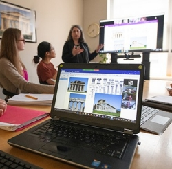 Villanova's embrace of educational technology has transformed how students learn Latin, Greek and classical culture.