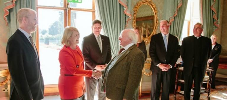Long-Standing Ties to Ireland