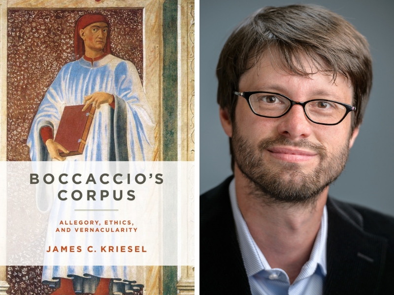 James C. Kreisel, PhD is author of Boccacio's Corpus: Allegory, Ethics, and Vernacularity.
