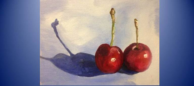 Fruit Study by Carolyn Hanuschek