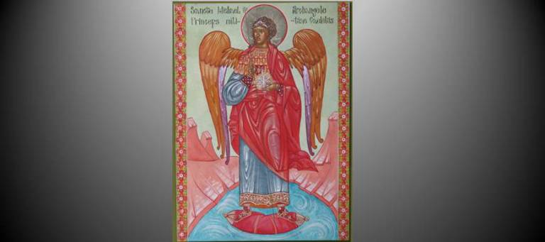 Archangel Michael by Susan von Medicus