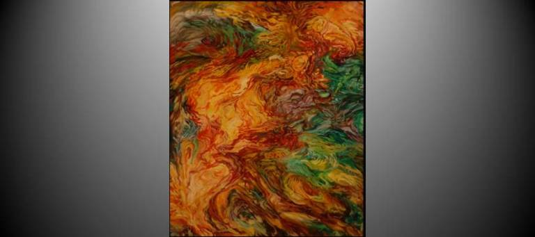 Molten Glass 1 by Christine Clay-Gorka