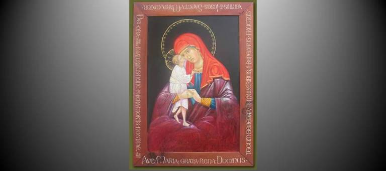 Mother of God Tenderness by Susan von Medicus