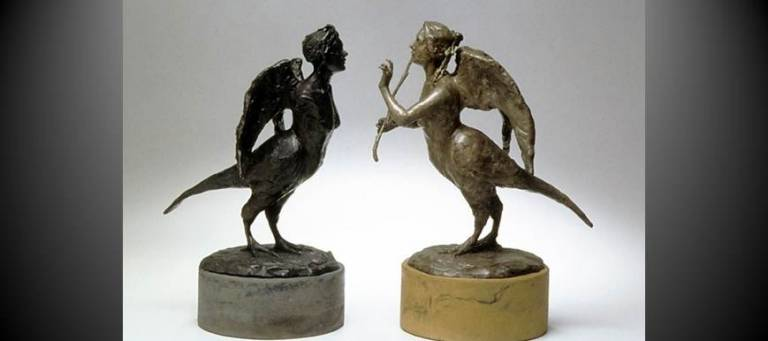 Bronze Couple by Elisabeth Nickles