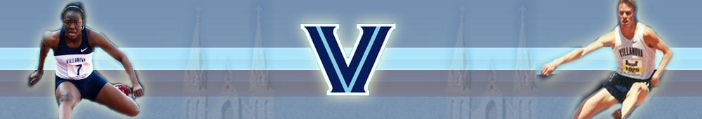 Villanova Track and Field Camps banner