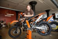 A Pioneer in AWD for Motorcycles and Mountain Bikes: Villanova Engineering Alumnus Steve Christini '95 ME