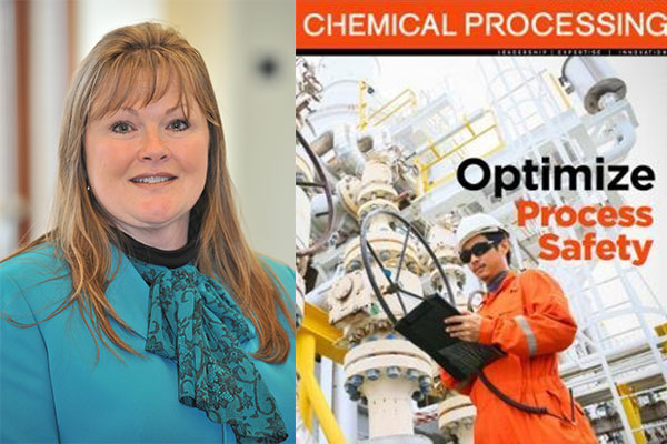Louisa Nara '89 MSWREE, Global Technical Director for the American Institute of Chemical Engineers' Center for Chemical Process Safety.