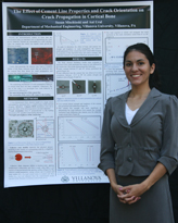Susan Mischinski presented a paper and a poster at the ASME Bio-engineering Conference.
