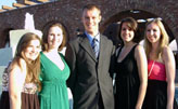 ESC board members (from left): Olivia Donaldson, Caitlin Kiernan, Joe Pawelczyk, Mara Tsudis, and Becky Ferenchiak
