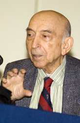 Dr. Lotfi Zadeh, winner of the 2009 Benjamin Franklin Medal in Electrical Engineering