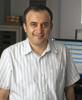 Dr. Ramazan Demirli, Director of the CAC's Acoustics and Ultrasound Lab