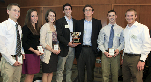 Engineering Students on Winning Team for Villanova Social Entrepreneurship Competition