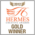 2012 Hermes Creative Awards Gold Winner