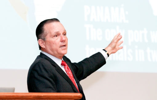 Alberto Alemán Zubieta, CEO of the Panama Canal Authority