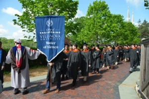 The College graduated 70 Master of Science degree recipients.