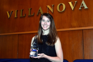 Joanna Schaff '15 ME won the 2015 Meyer ICE Award for the College of Engineering.