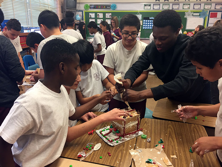 NovaCANE Brings Fun Christmas Learning to Local Students