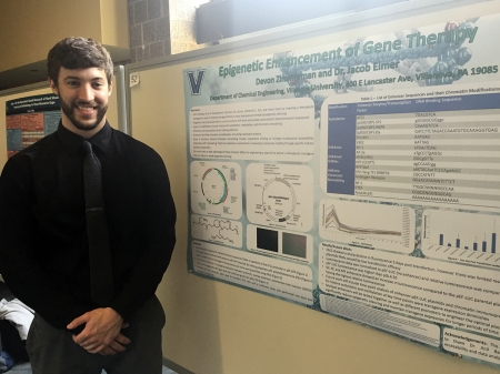 "PhD candidate Devon Zimmerman won the Sigma Xi award for his poster ""Epigenetic Enhancement of Gene Therapy."""