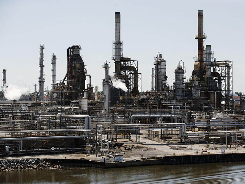 Philadelphia Energy Solution's refinery complex