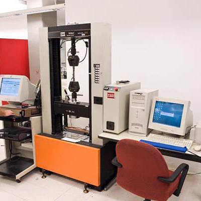 The Instron Tensile Testing Machine