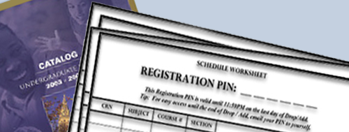 course registration form