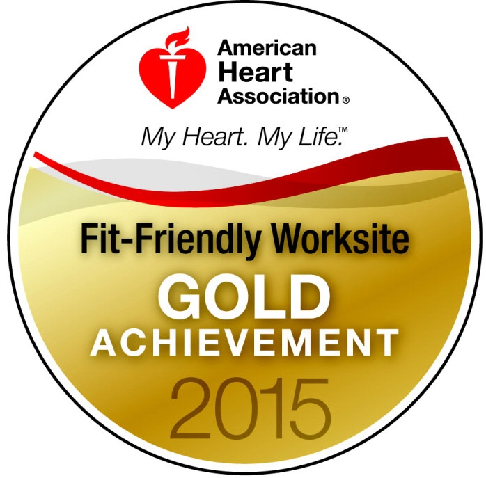 American Heart Association Fit Friendly Worksite Gold Achievement
