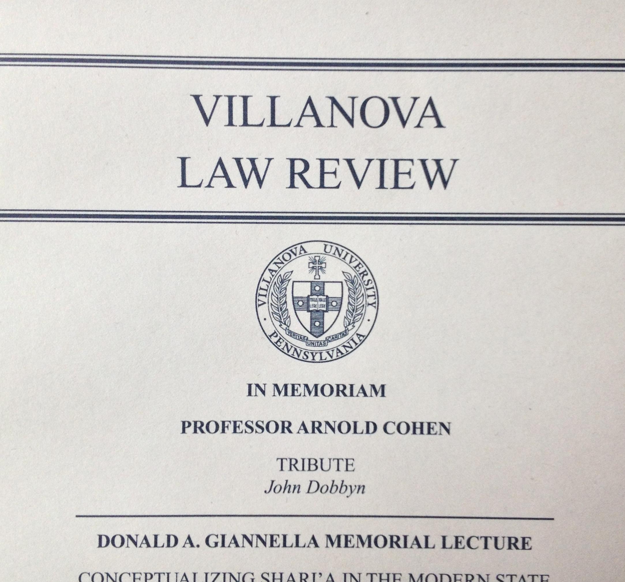 villanova essay questions