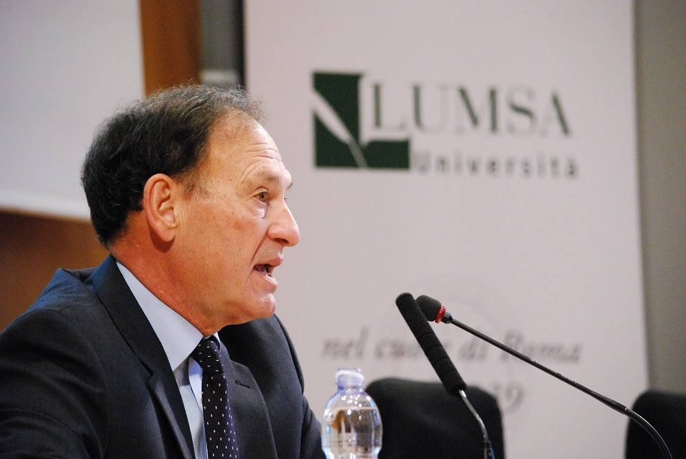 Supreme Court Justice Samuel Alito Jr. addresses the Tradition Project in Rome.