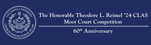 60th Annual Theodore L. Reimel Moot Court Competition