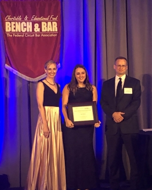 Katie Albanese '19 Wins Federal Circuit Bar Association Student Writing Competition