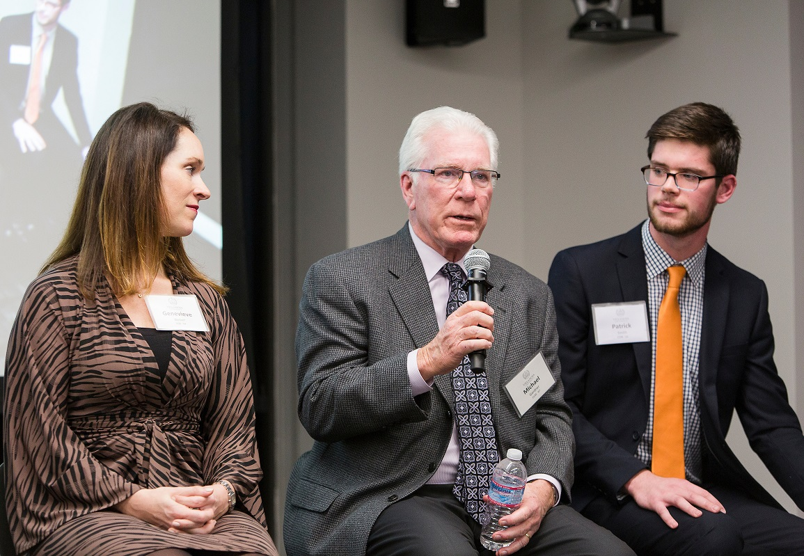 Villanova Alumni Network provides key support to students on the career front