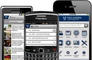 Blackberry, iPhone, Droid Screens