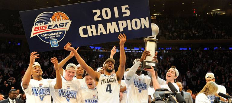 Big East Tournament Champions
