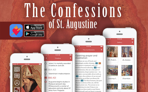 Villanova University has launched an interactive digital app that brings St. Augustine's Confessions to life.
