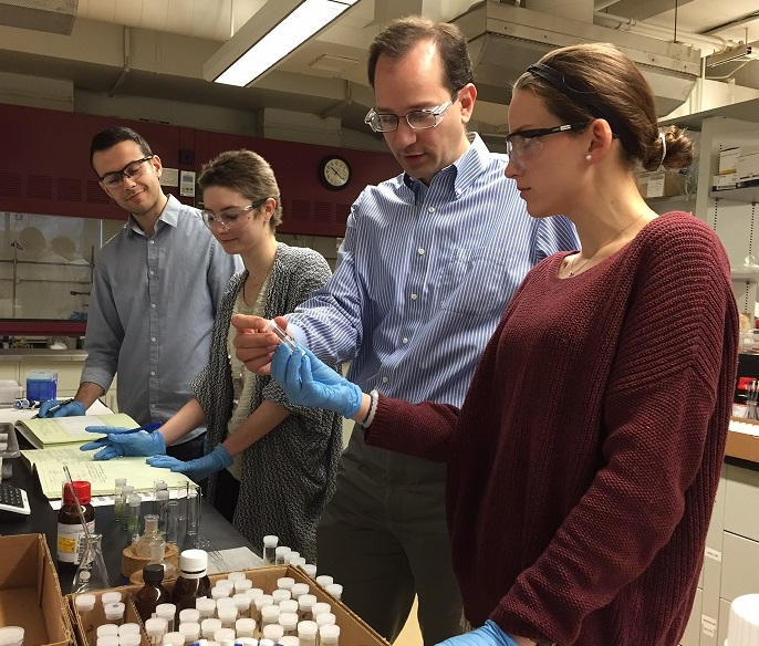Villanova chemistry team is developing superbug-killing disinfectants