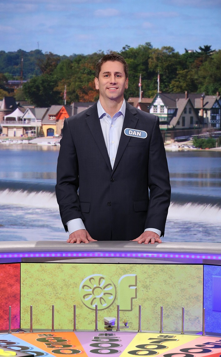 Villanova University alumnus Daniel Farino '04 VSB will be a contestant on Wheel of Fortune Friday, May 20