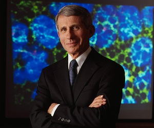 Villanova University Awards 2016 Mendel Medal to Anthony S. Fauci, MD, Director of the  National Institute of Allergy and Infectious Diseases at the National Institutes of Health