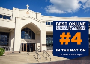 Villanova School of Business Online Graduate Programs Ranked #4 by U.S. News & World Report